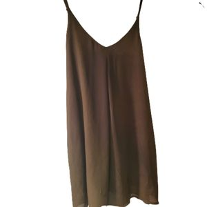 Tobi blouse olive green size small lined